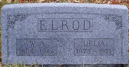 ELROD, DELIA - Bosque County, Texas   DELIA ELROD - Texas Gravestone Photos