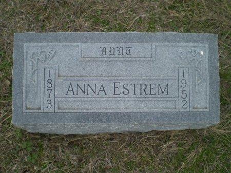ESTREM, ANNA - Bosque County, Texas | ANNA ESTREM - Texas Gravestone Photos