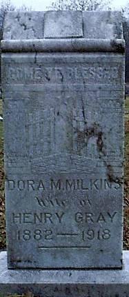 WILKENS GRAY, DORA M. - Bosque County, Texas   DORA M. WILKENS GRAY - Texas Gravestone Photos