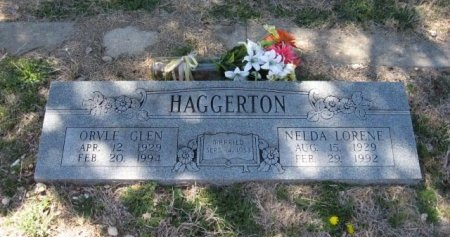 KOEN HAGGERTON, NELDA LORENE - Bosque County, Texas | NELDA LORENE KOEN HAGGERTON - Texas Gravestone Photos