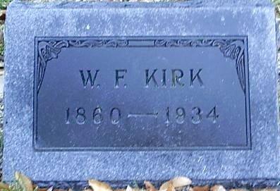 KIRK, W. F. - Bosque County, Texas   W. F. KIRK - Texas Gravestone Photos