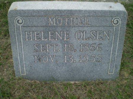 OLSEN, HELENE - Bosque County, Texas | HELENE OLSEN - Texas Gravestone Photos