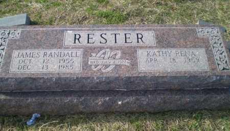 RESTER, JAMES RANDALL - Bosque County, Texas | JAMES RANDALL RESTER - Texas Gravestone Photos