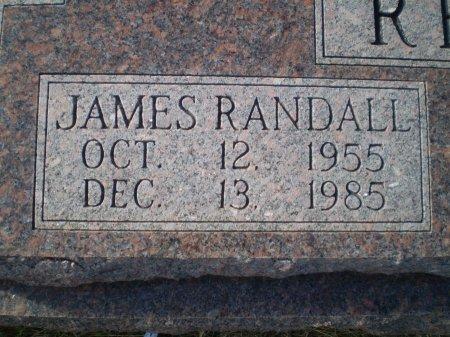RESTER, JAMES RANDALL  (CLOSEUP) - Bosque County, Texas | JAMES RANDALL  (CLOSEUP) RESTER - Texas Gravestone Photos