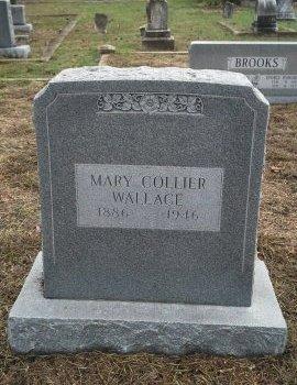 COLLIER WALLACE, MARY CAROLINE - Bosque County, Texas   MARY CAROLINE COLLIER WALLACE - Texas Gravestone Photos