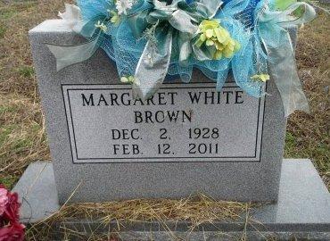 DAVIDSON WHITE, MARGARET BROWN - Bosque County, Texas | MARGARET BROWN DAVIDSON WHITE - Texas Gravestone Photos