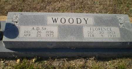 WOODY, FLORENCE - Bosque County, Texas   FLORENCE WOODY - Texas Gravestone Photos