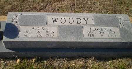 WOODY, SR., ARTHUR DEXTER - Bosque County, Texas | ARTHUR DEXTER WOODY, SR. - Texas Gravestone Photos