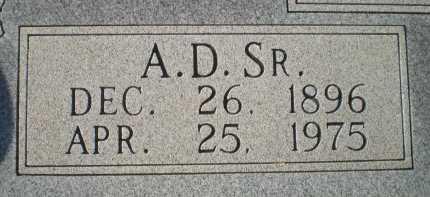 WOODY, SR., ARTHUR DEXTER (CLOSEUP) - Bosque County, Texas | ARTHUR DEXTER (CLOSEUP) WOODY, SR. - Texas Gravestone Photos