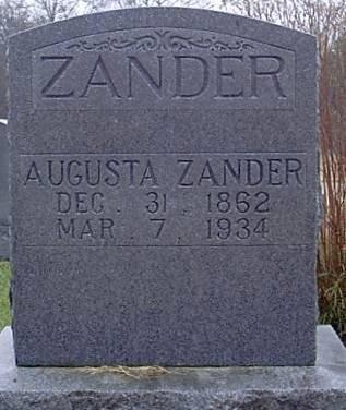 DIEKAS ZANDER, EMILIE AUGUSTA - Bosque County, Texas | EMILIE AUGUSTA DIEKAS ZANDER - Texas Gravestone Photos
