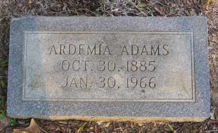 ADAMS, ARDEMIA - Bowie County, Texas | ARDEMIA ADAMS - Texas Gravestone Photos