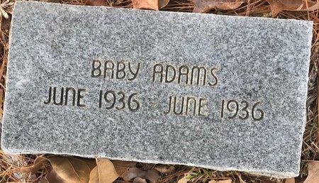 ADAMS, BABY - Bowie County, Texas   BABY ADAMS - Texas Gravestone Photos