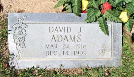 ADAMS, DAVID J. - Bowie County, Texas   DAVID J. ADAMS - Texas Gravestone Photos
