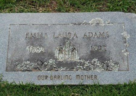 ADAMS, EMMA LAURA - Bowie County, Texas   EMMA LAURA ADAMS - Texas Gravestone Photos