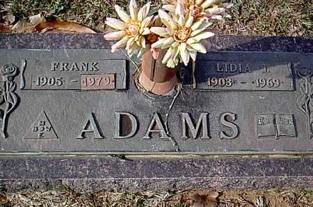 ADAMS, LIDIA J - Bowie County, Texas | LIDIA J ADAMS - Texas Gravestone Photos