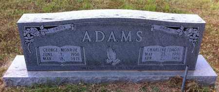 ADAMS, GEORGE MONROE - Bowie County, Texas | GEORGE MONROE ADAMS - Texas Gravestone Photos