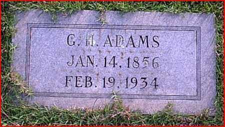 ADAMS, G H - Bowie County, Texas | G H ADAMS - Texas Gravestone Photos