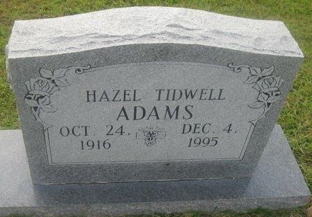ADAMS, HAZEL - Bowie County, Texas | HAZEL ADAMS - Texas Gravestone Photos