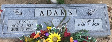 ADAMS, JESSE - Bowie County, Texas | JESSE ADAMS - Texas Gravestone Photos