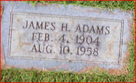 ADAMS, JAMES H - Bowie County, Texas | JAMES H ADAMS - Texas Gravestone Photos