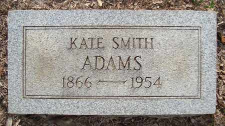 ADAMS, KATE - Bowie County, Texas   KATE ADAMS - Texas Gravestone Photos