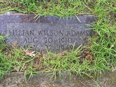 ADAMS, LILLIAN - Bowie County, Texas | LILLIAN ADAMS - Texas Gravestone Photos