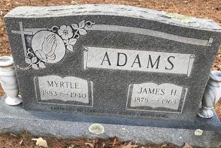 ADAMS, MYRTLE - Bowie County, Texas | MYRTLE ADAMS - Texas Gravestone Photos