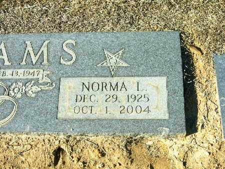 ADAMS, NORMA L  (CLOSEUP) - Bowie County, Texas | NORMA L  (CLOSEUP) ADAMS - Texas Gravestone Photos