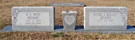ADAMS, R. S. - Bowie County, Texas | R. S. ADAMS - Texas Gravestone Photos