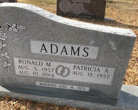 ADAMS, RONALD M - Bowie County, Texas | RONALD M ADAMS - Texas Gravestone Photos