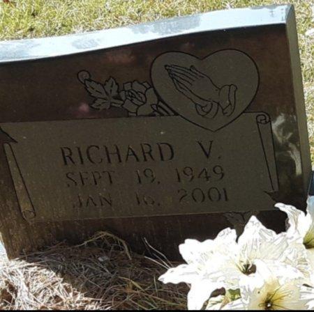 ADAMS, RICHARD V (CLOSEUP) - Bowie County, Texas | RICHARD V (CLOSEUP) ADAMS - Texas Gravestone Photos