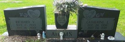 ADAMS, RICHARD V. - Bowie County, Texas | RICHARD V. ADAMS - Texas Gravestone Photos