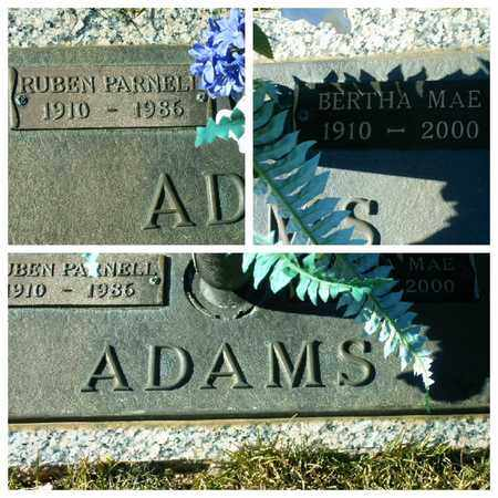 ADAMS, BERTHA MAE - Bowie County, Texas | BERTHA MAE ADAMS - Texas Gravestone Photos