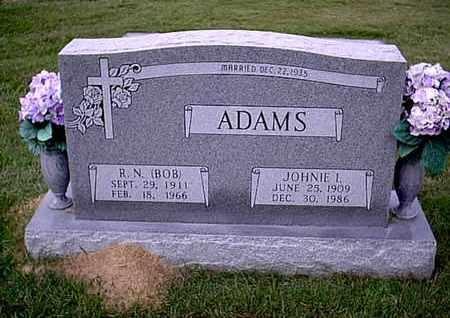 ADAMS, JOHNIE L  - Bowie County, Texas   JOHNIE L  ADAMS - Texas Gravestone Photos