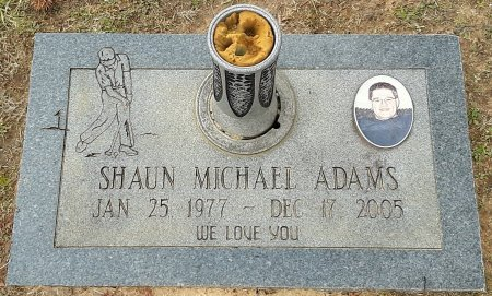 ADAMS, SHAUN MICHAEL - Bowie County, Texas | SHAUN MICHAEL ADAMS - Texas Gravestone Photos