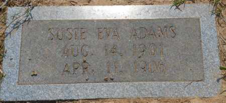ADAMS, SUSIE EVA - Bowie County, Texas | SUSIE EVA ADAMS - Texas Gravestone Photos