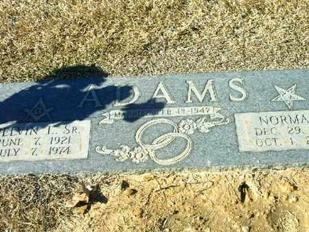 ADAMS, NORMA L - Bowie County, Texas | NORMA L ADAMS - Texas Gravestone Photos