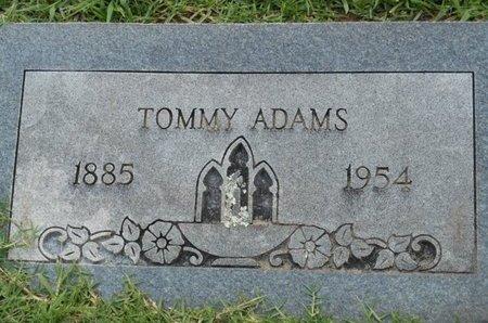 ADAMS, TOMMY - Bowie County, Texas | TOMMY ADAMS - Texas Gravestone Photos