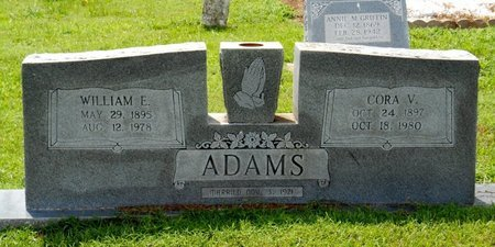 ADAMS, CORA V - Bowie County, Texas | CORA V ADAMS - Texas Gravestone Photos