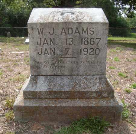 ADAMS, W. J. - Bowie County, Texas   W. J. ADAMS - Texas Gravestone Photos