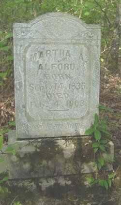 WHITE ALFORD, MARTHA ANN - Bowie County, Texas | MARTHA ANN WHITE ALFORD - Texas Gravestone Photos