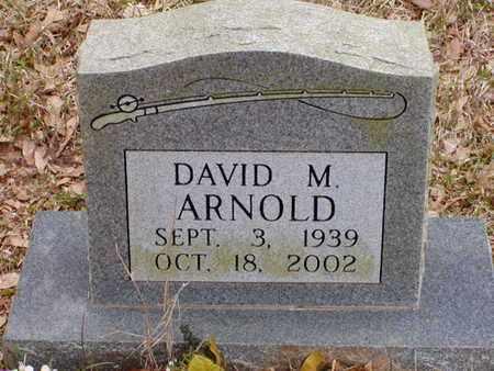 ARNOLD, DAVID M - Bowie County, Texas | DAVID M ARNOLD - Texas Gravestone Photos