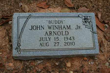 ARNOLD, JR, JOHN WINHAM - Bowie County, Texas   JOHN WINHAM ARNOLD, JR - Texas Gravestone Photos