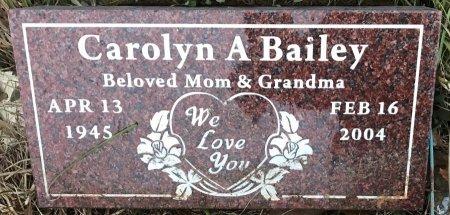 HOEMKE BAILEY, CAROLYN A - Bowie County, Texas | CAROLYN A HOEMKE BAILEY - Texas Gravestone Photos
