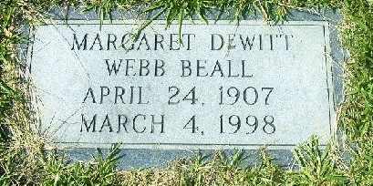 WEBB, MARGARET - Bowie County, Texas   MARGARET WEBB - Texas Gravestone Photos