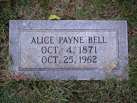 BELL, ALICE - Bowie County, Texas | ALICE BELL - Texas Gravestone Photos
