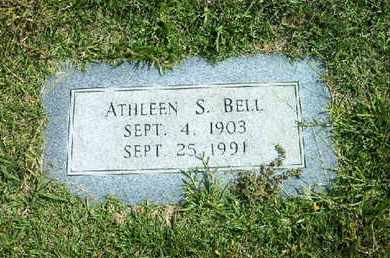 BELL, ATHLEEN S - Bowie County, Texas | ATHLEEN S BELL - Texas Gravestone Photos