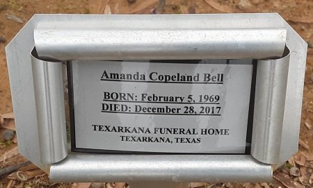 COPELAND BELL, AMANDA (FHM) - Bowie County, Texas | AMANDA (FHM) COPELAND BELL - Texas Gravestone Photos