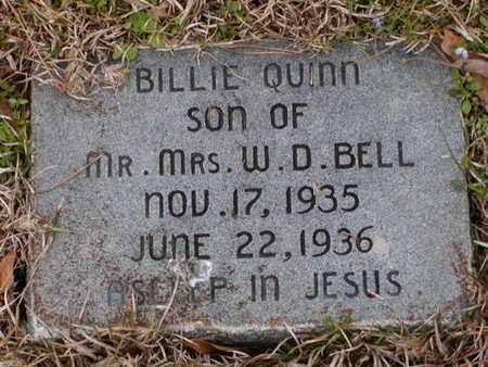BELL, BILLIE QUINN - Bowie County, Texas | BILLIE QUINN BELL - Texas Gravestone Photos
