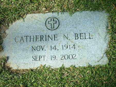 BELL, CATHERINE N - Bowie County, Texas | CATHERINE N BELL - Texas Gravestone Photos